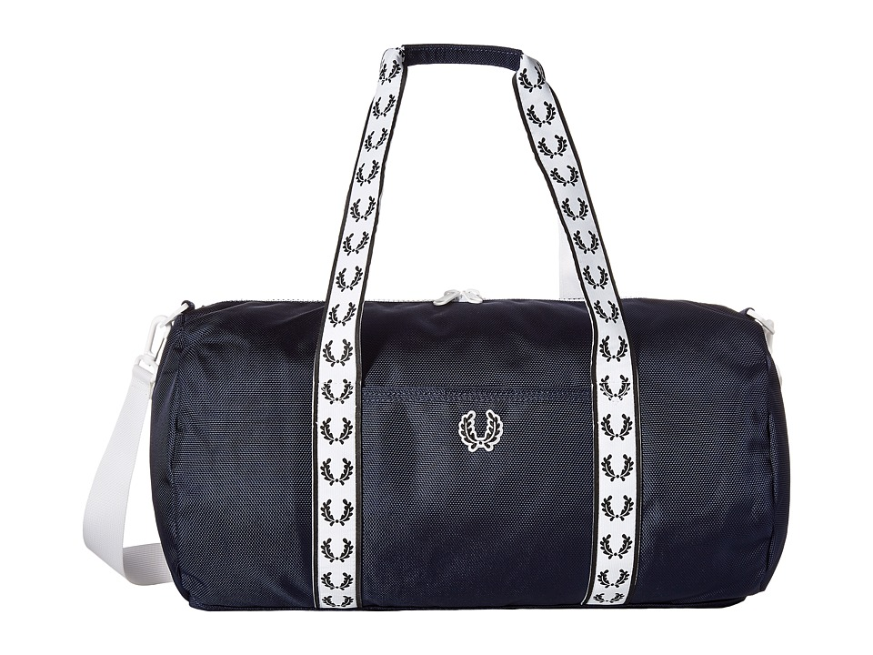 Fred Perry - Track Barrel Bag (Navy) Handbags