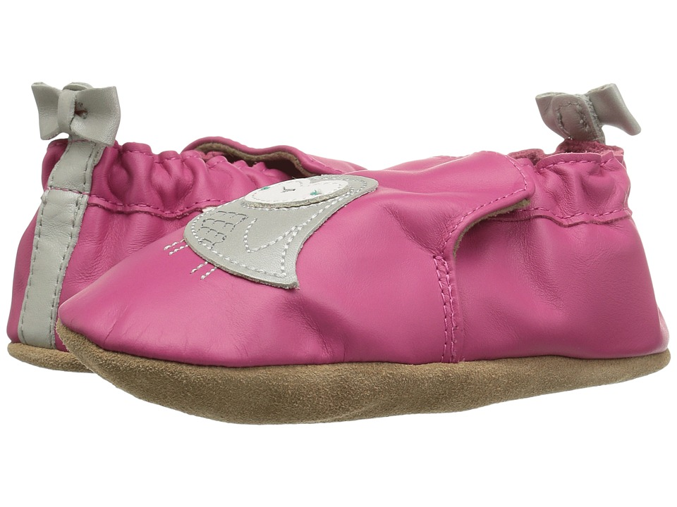 Robeez Bird Buddies Soft Sole (Infant/Toddler) (Fuchsia) Girl's Shoes