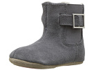 Robeez Grey Gwen Boot Mini Shoez (Infant/Toddler)