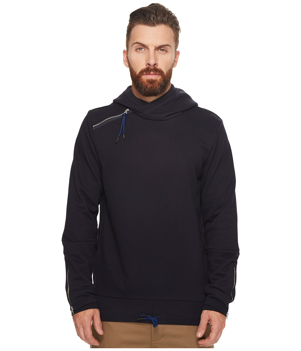 Scotch & Soda - Hooded Sweat with Side Panel and Double Cuff Styling