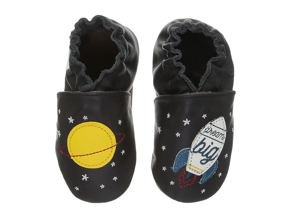 Robeez Space Dream Soft Sole (Infant/Toddler) (Black) Boy's Shoes