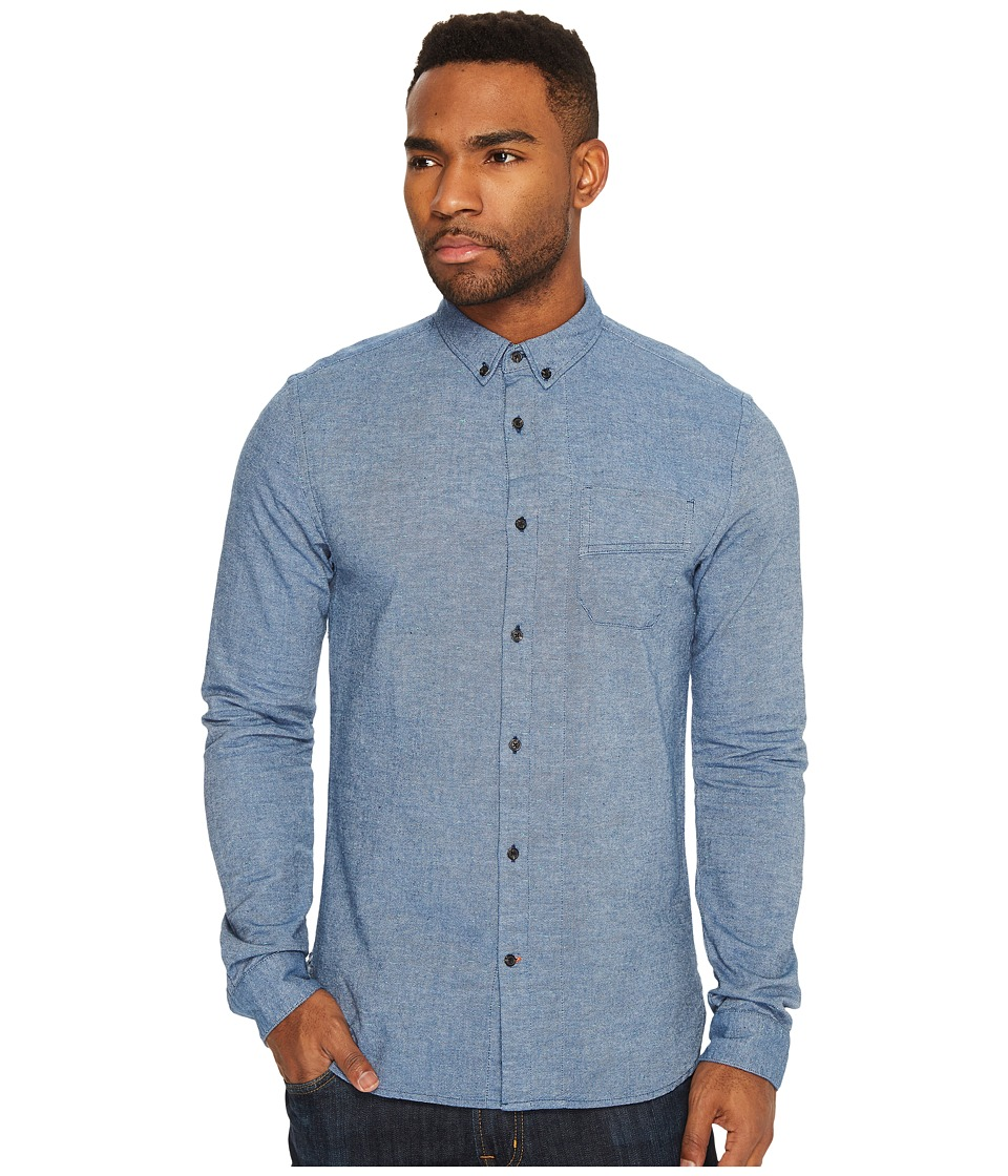 Scotch & Soda - Long Sleeve Shirt with Neps and Chest Pocket