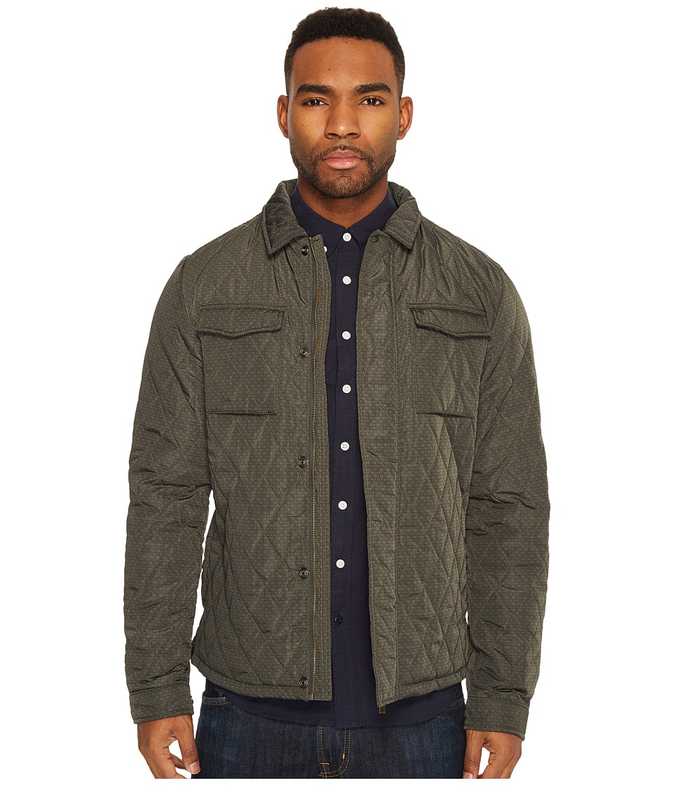 Scotch & Soda - Lightweight Quilted Shirt Jacket in Nylon Quality