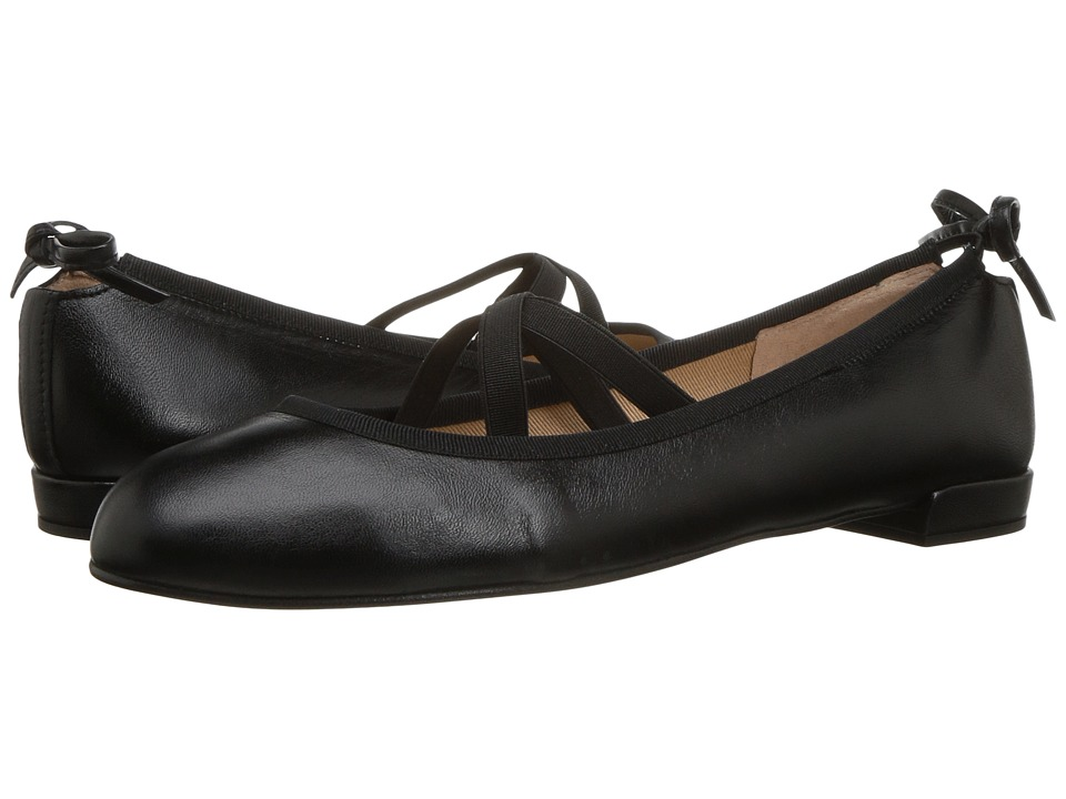 French Sole Isabella (Black Nappa) Women