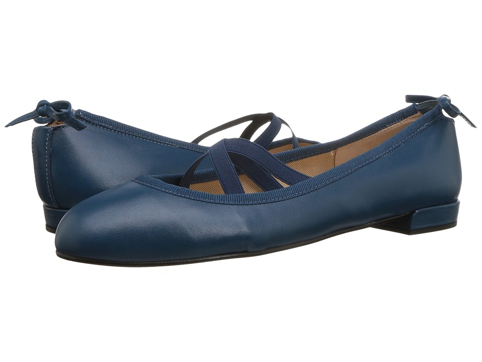 French Sole Isabella (Teal Blue Nappa) Women