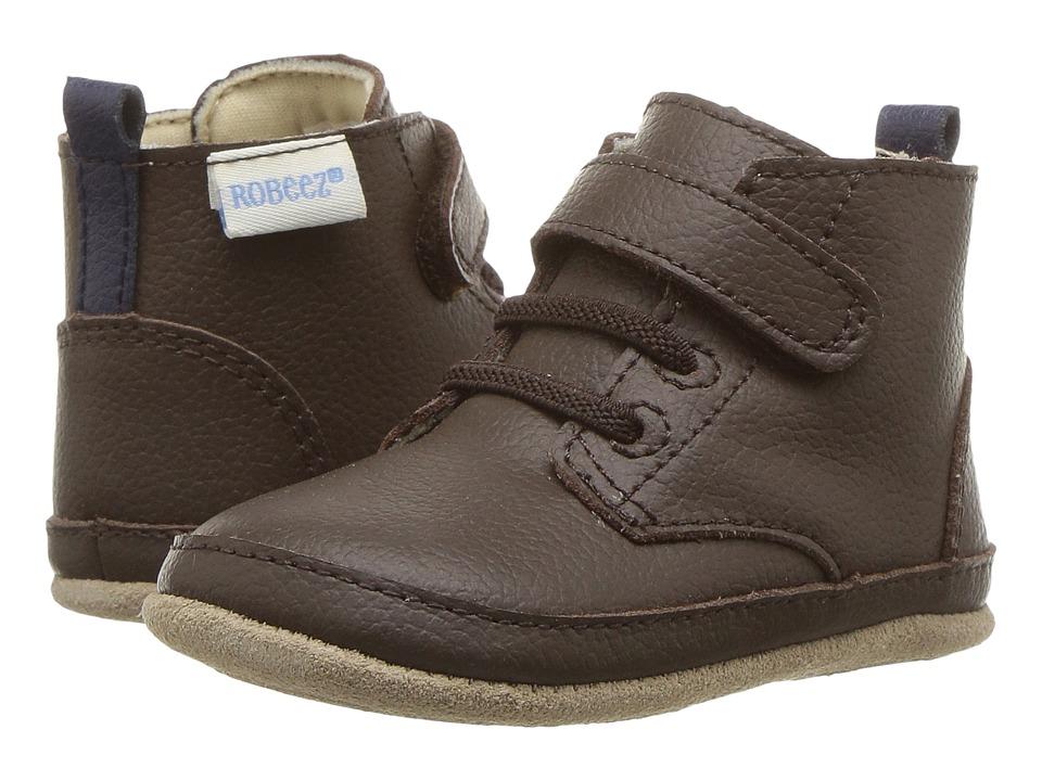 Robeez Nick Boot Mini Shoez (Infant/Toddler) (Espresso) Boys Shoes
