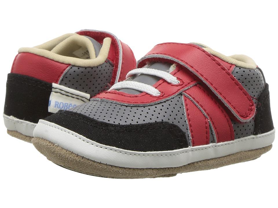 Robeez Kickin' Kyle Mini Shoez (Infant/Toddler) (Grey) Boy's Shoes