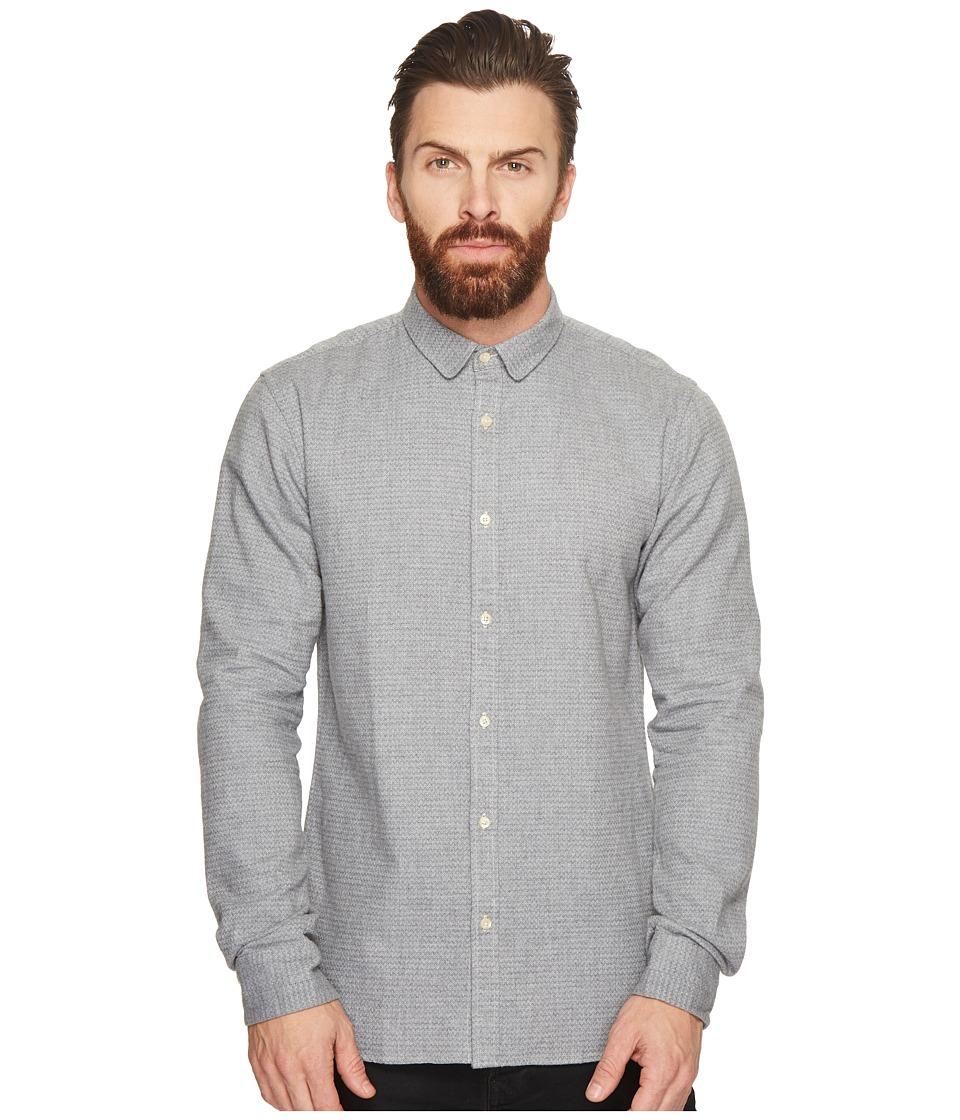 Scotch & Soda - Long Sleeve Shirt in Dobby Patterns