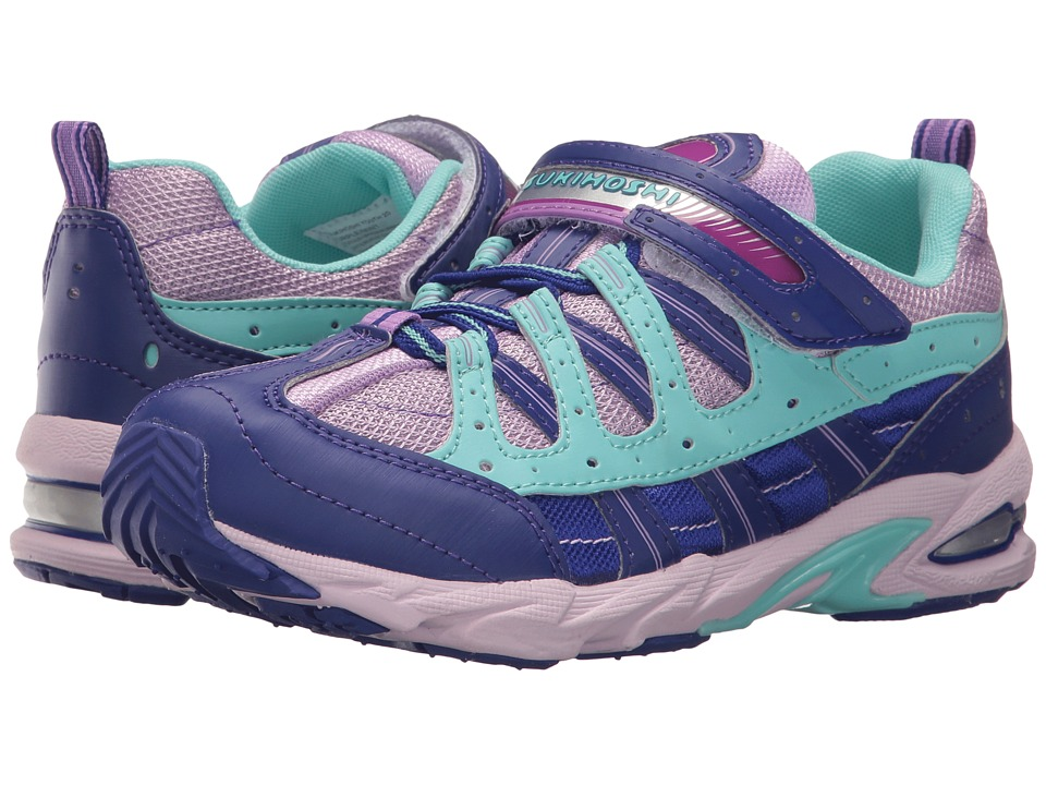 Tsukihoshi Kids - Speed (Little Kid/Big Kid) (Purple/Mint) Girls Shoes