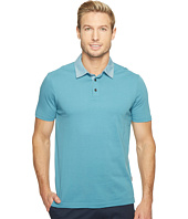 Perry Ellis - Pima Chambray Polo Shirt