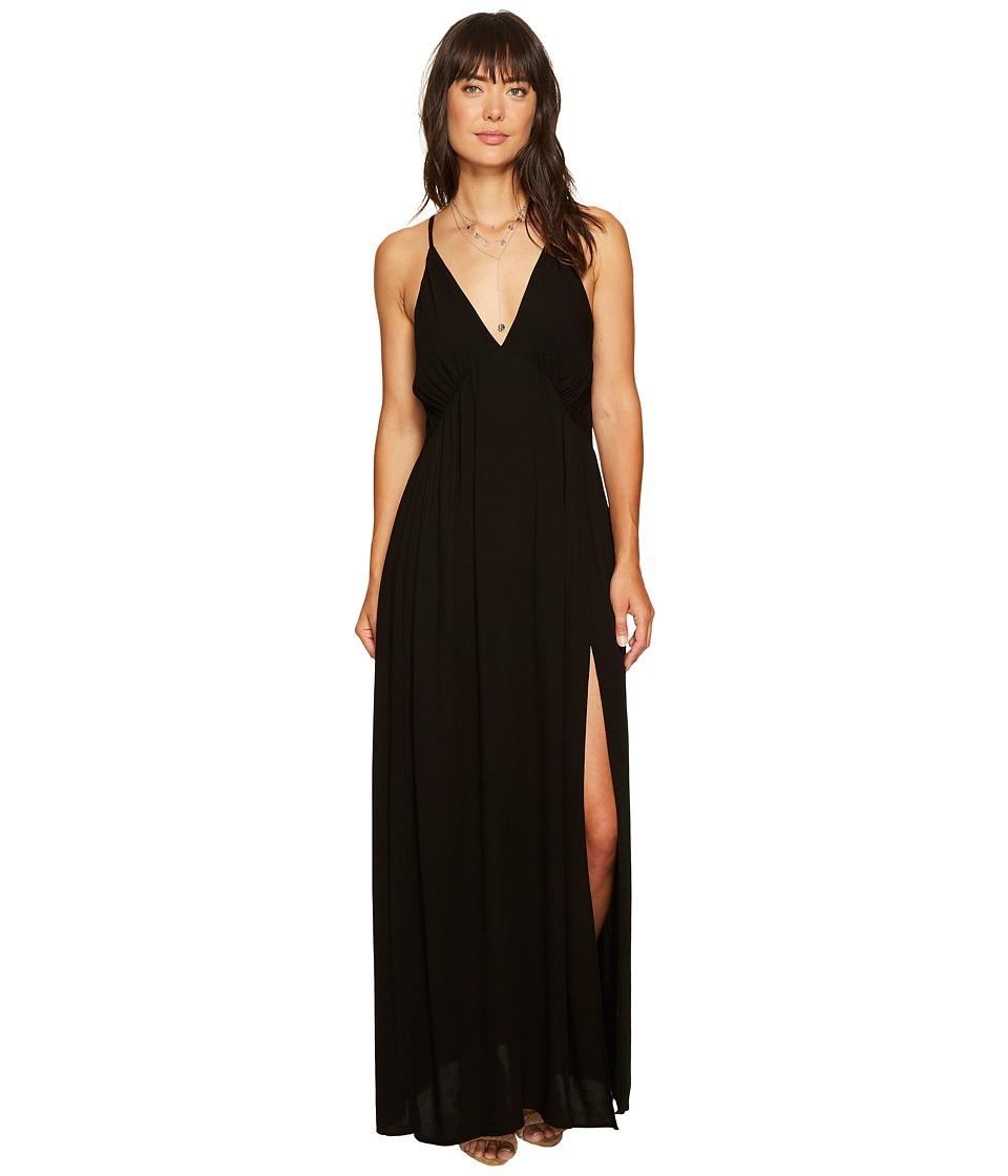 Young Fabulous & Broke Plane Dress (Black) Women