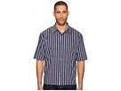 Vince - Narrow Stripe Single Pleat Long Sleeve Shirt