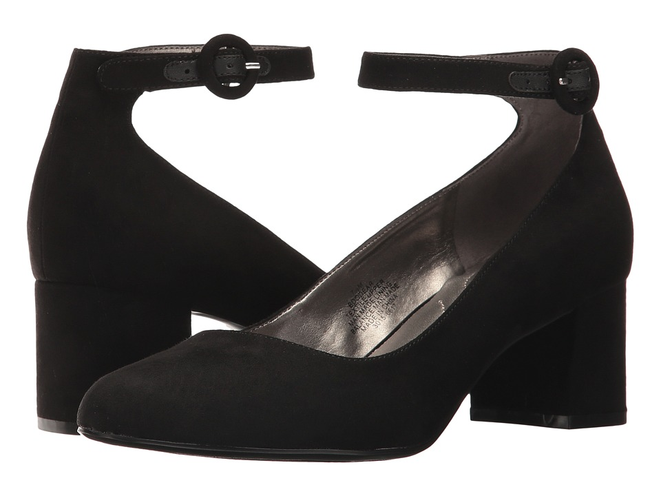 Bandolino Odear (Black Faux Suede) Women's Shoes