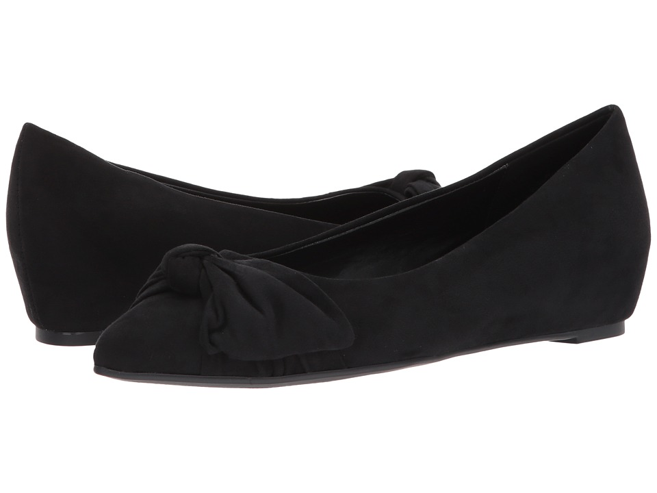 1950s Style Shoes Bandolino - Ressie Black Faux Suede Womens Shoes $47.99 AT vintagedancer.com