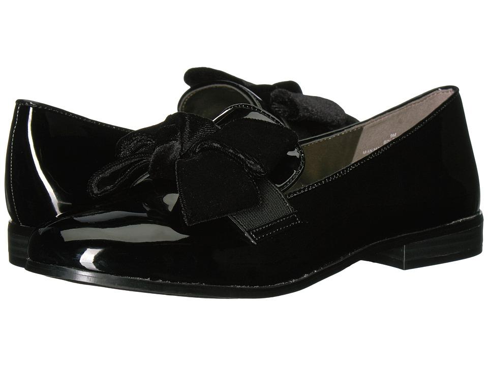 Bandolino Lomb (Black Multi Sleek Patent PU/Velvet/Gore) Women