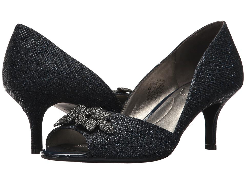 Bandolino Niella (Navy Glamour Material) Women