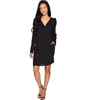 B Collection by Bobeau - Amada Long Sleeve Woven Dress
