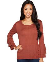 B Collection by Bobeau - Cora Ruffle Sleeve Sweater