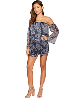 The Jetset Diaries - Midnight Paisley Romper