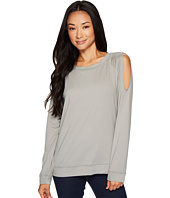 B Collection by Bobeau - Cold Shoulder Tee