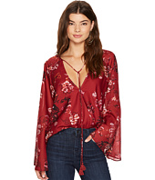 The Jetset Diaries - Autumn Surplice Top