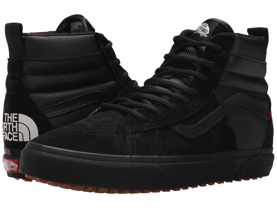 Vans - SK8-Hi 46 MTE DX X The North Face Collab ((MTE) TNF/Black/Black) Skate Shoes