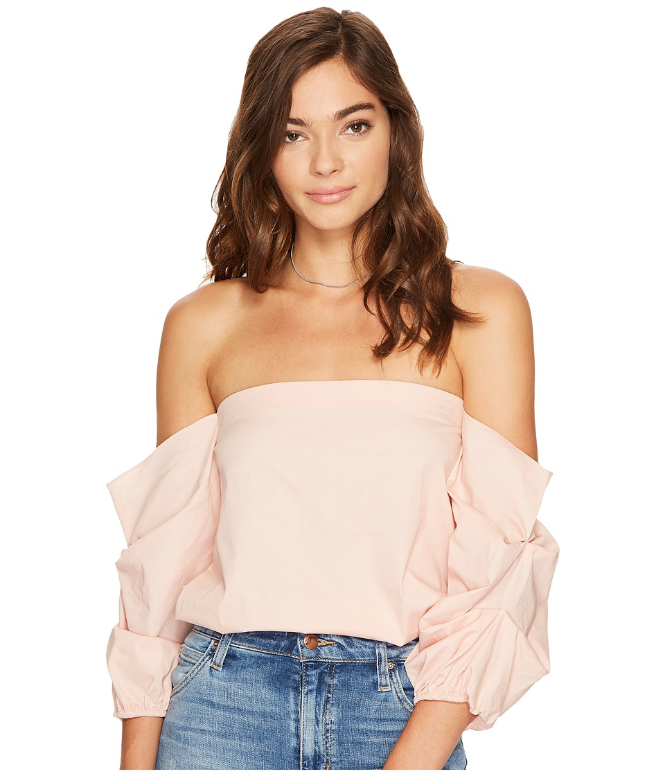 1.STATE - Off Shoulder Volumninous Sleeve Top