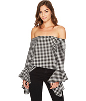 1.STATE - Off Shoulder Cascade Sleeve Top