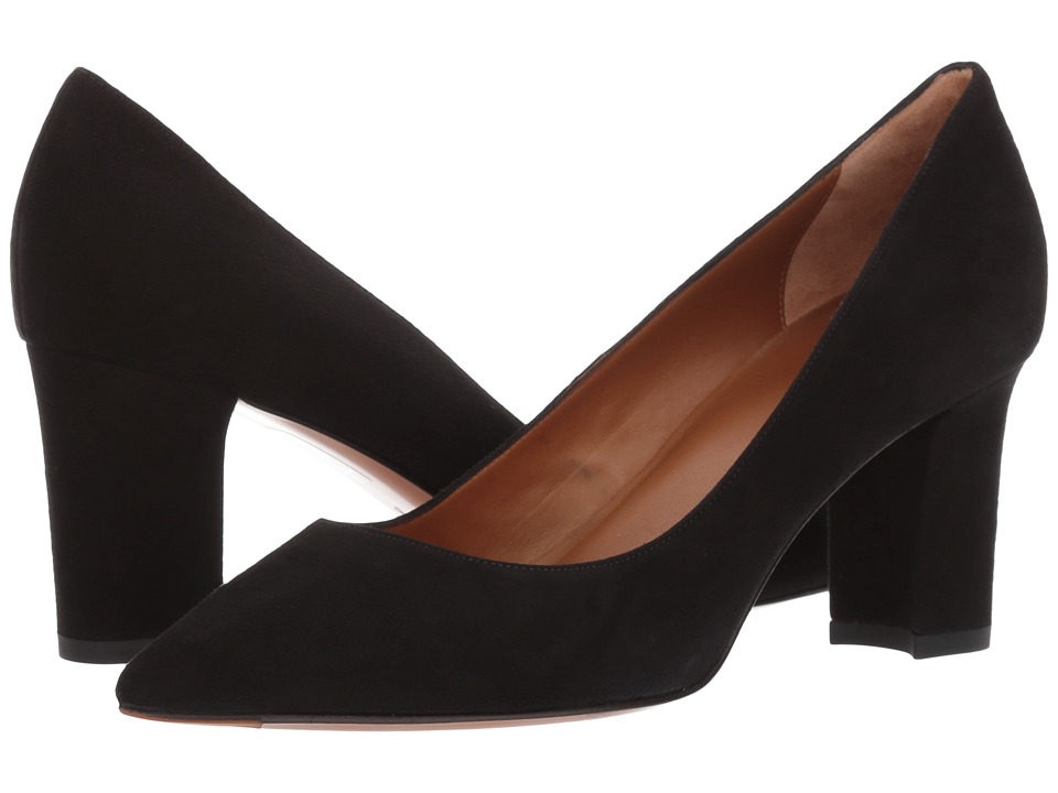 Aquatalia Michaela (Black Suede) Women