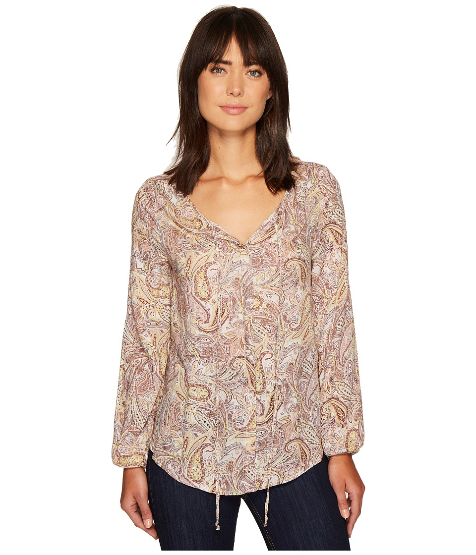 B Collection by Bobeau - Rumi Tie Neck Blouse