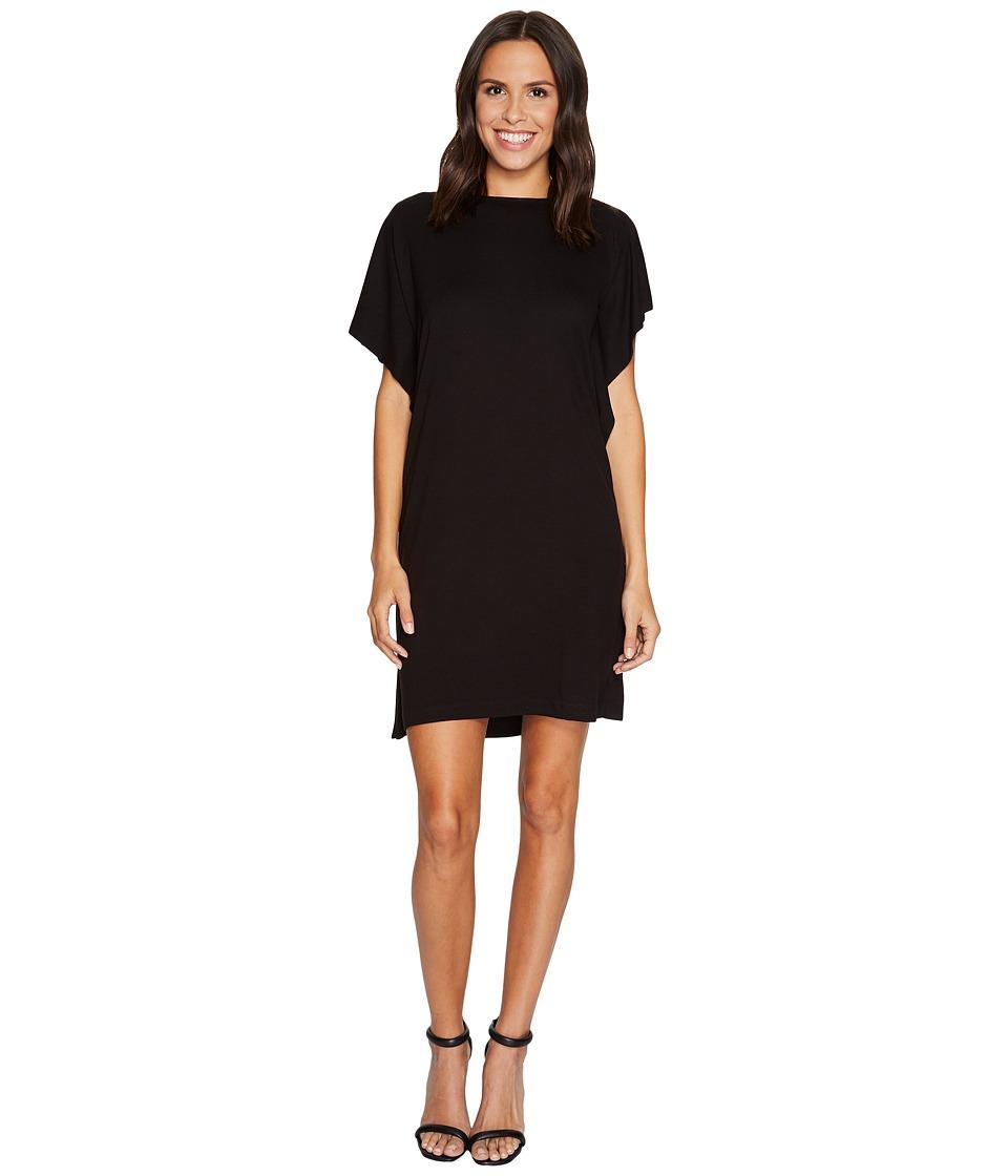 B Collection by Bobeau Rafferty Dolman Knit Dress (Black) Women