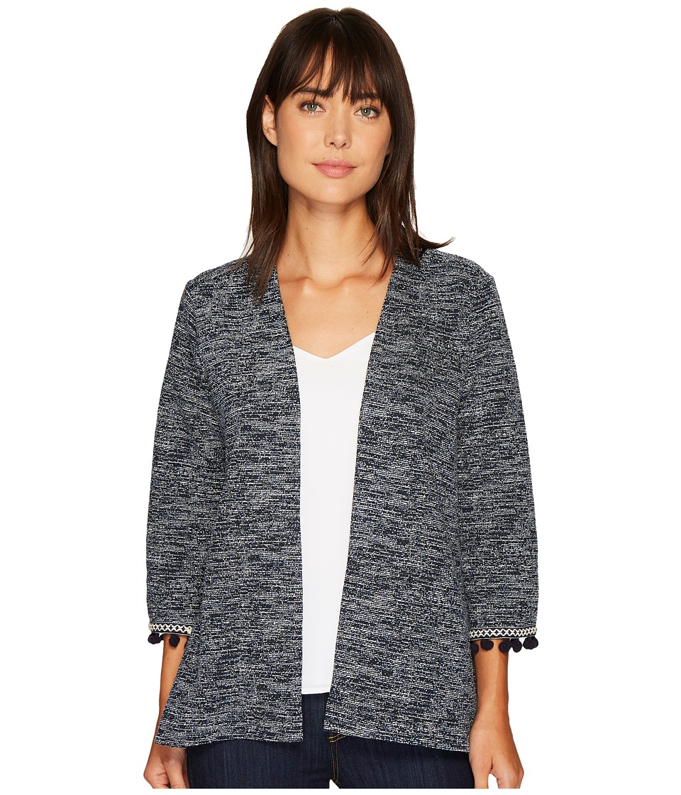 B Collection by Bobeau - Maren Kimono Jacket with Trim