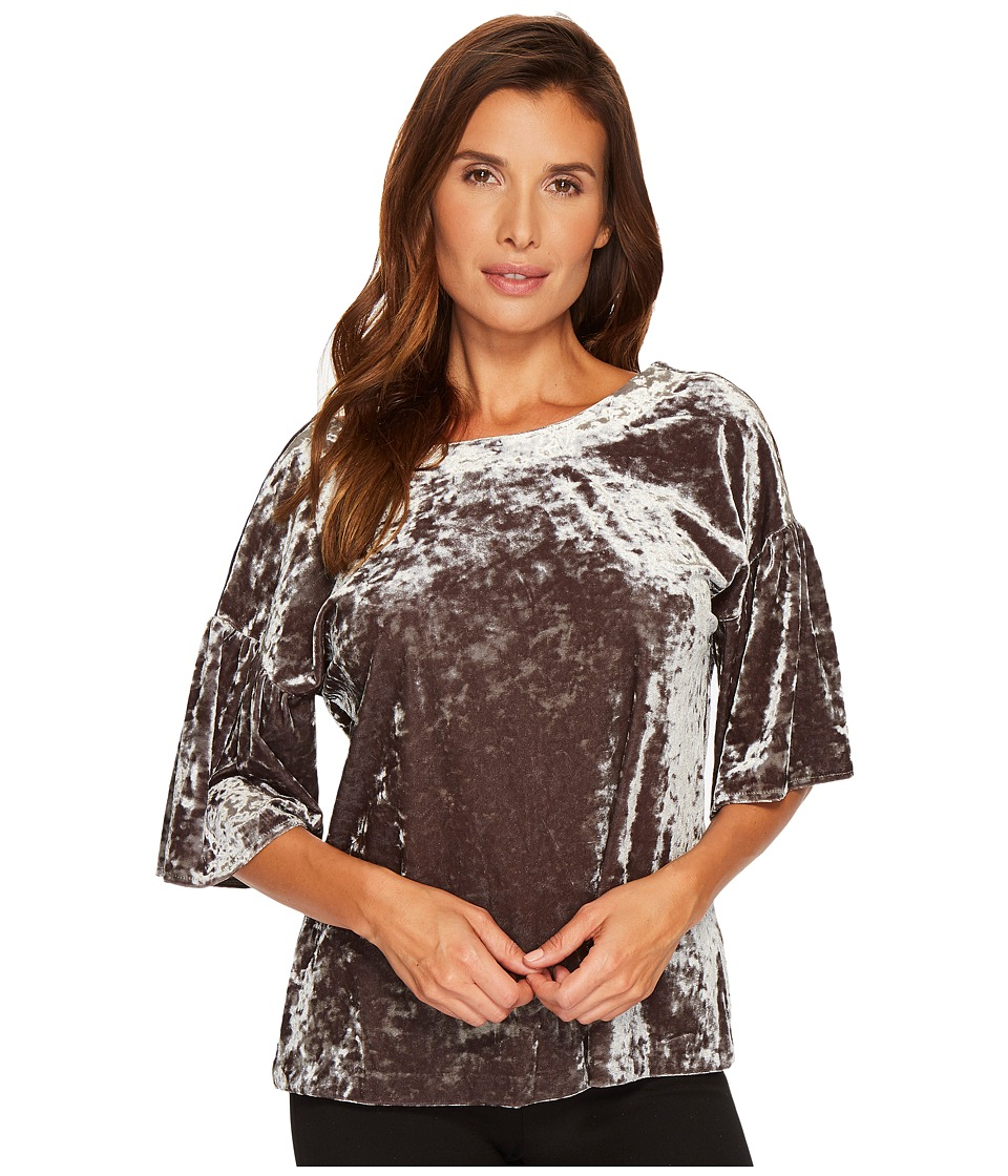 B Collection by Bobeau - Emma Flutter Sleeve Top