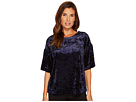 B Collection by Bobeau Emma Flutter Sleeve Top