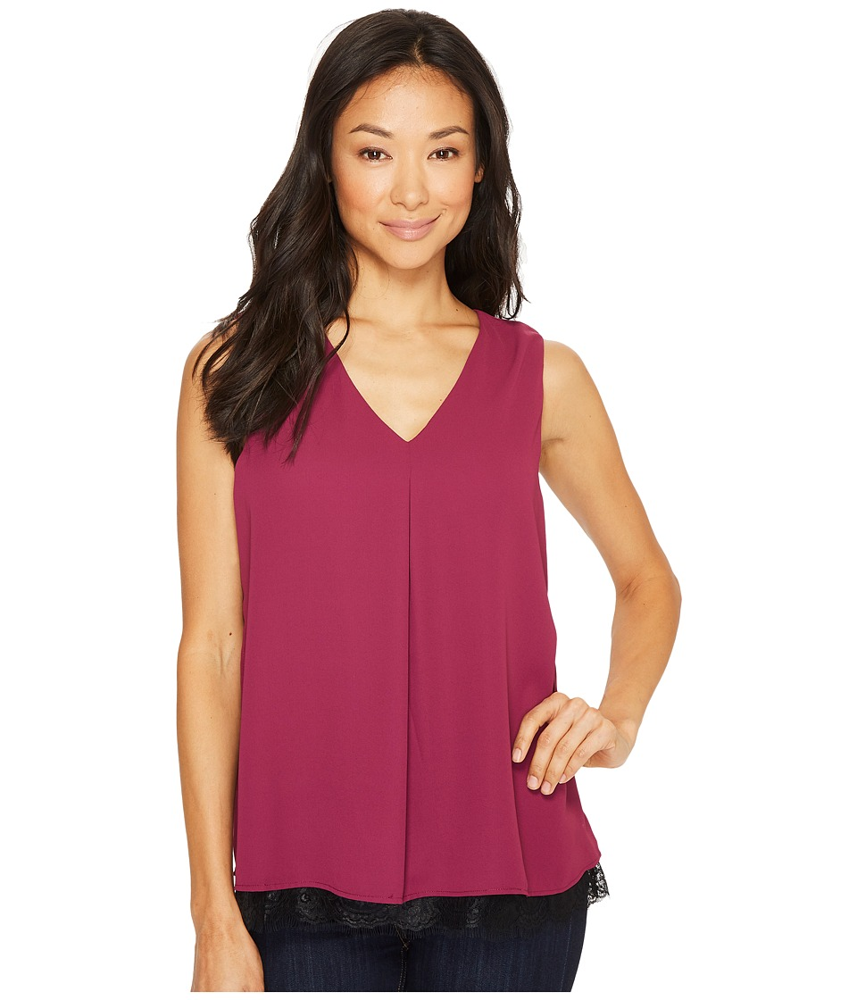 B Collection by Bobeau - Grace Lace Layer Tank Top