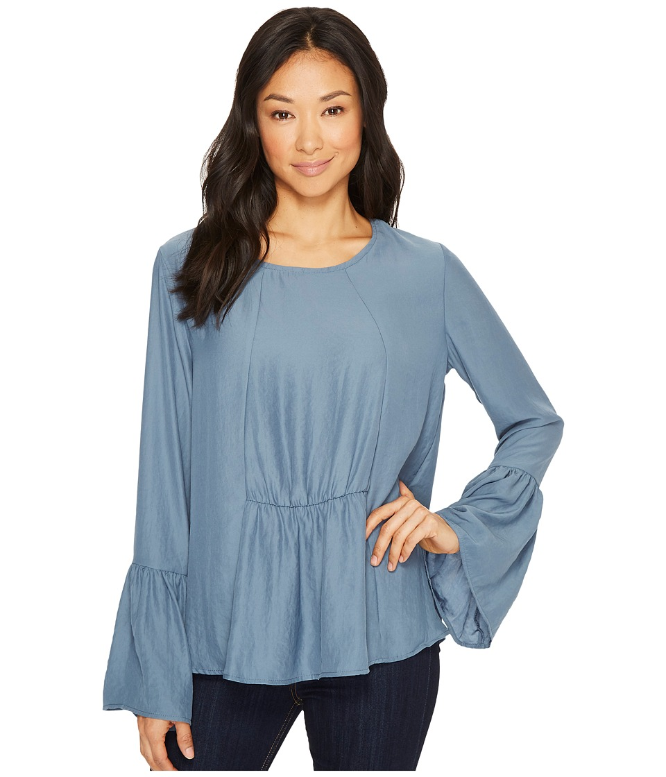 B Collection by Bobeau - Lee Flare Sleeve Blouse