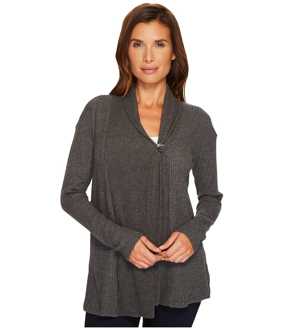 B Collection by Bobeau - Erin Button Front Cardigan