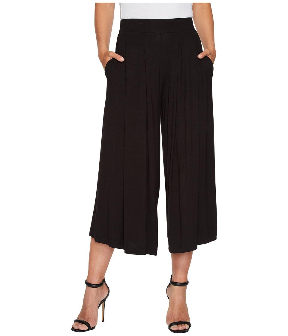 B Collection by Bobeau Rena Knit Trousers (Black) Women