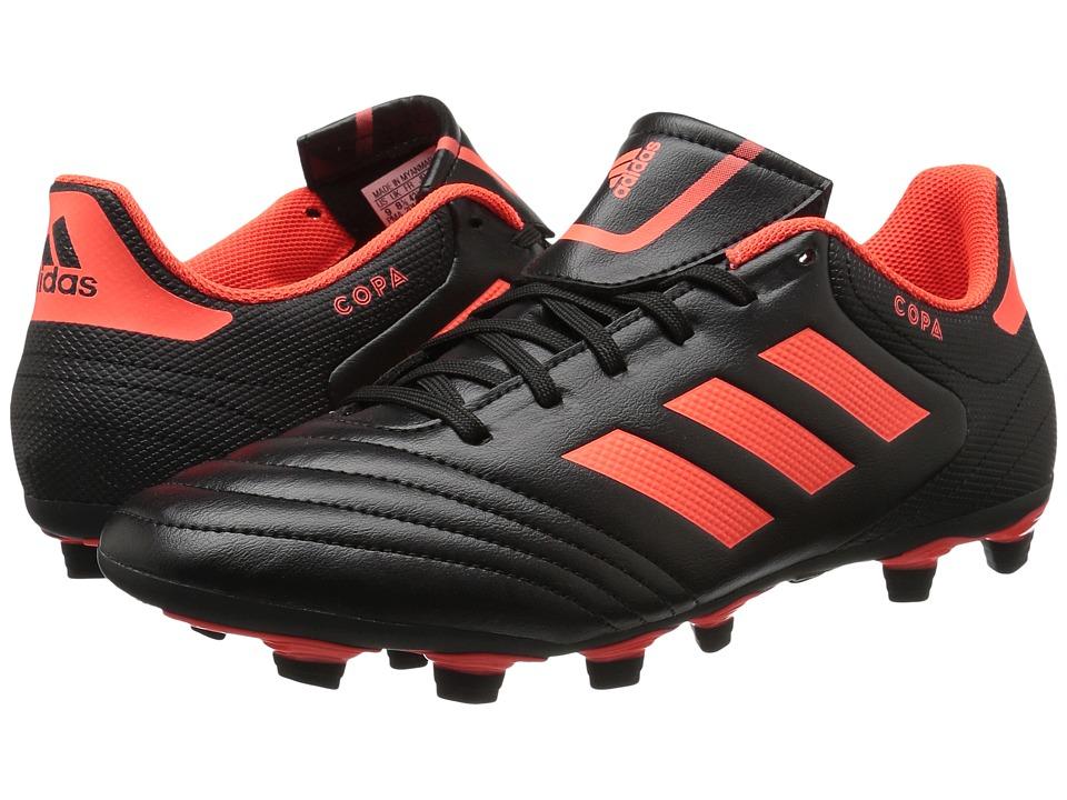 adidas Copa 17.4 FxG (Core Black/Solar Red) Men