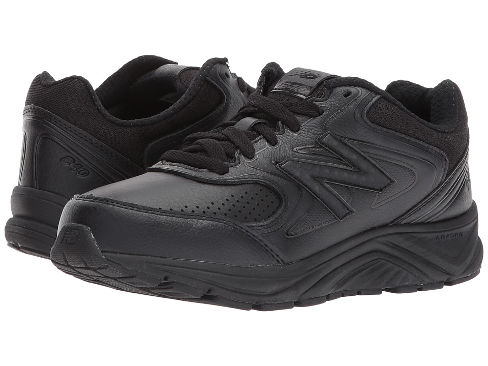 New Balance WW840v2 (Black/Black) Walking Shoes