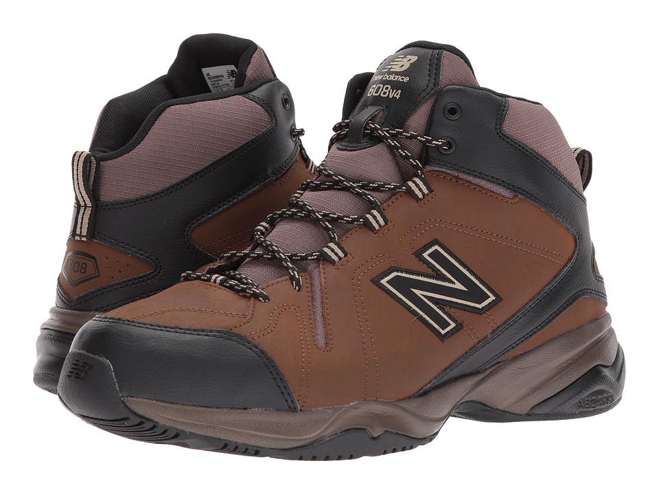 New Balance - MX608Mv4 (Brown/Black) Mens Cross Training Shoes