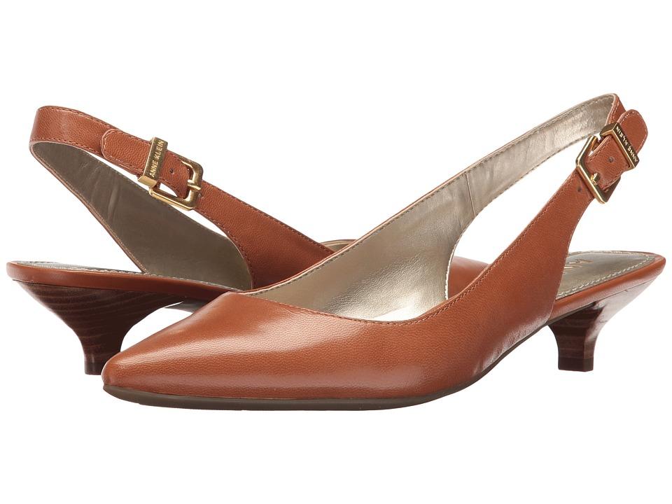 Anne Klein Expert (Cognac Leather) Women