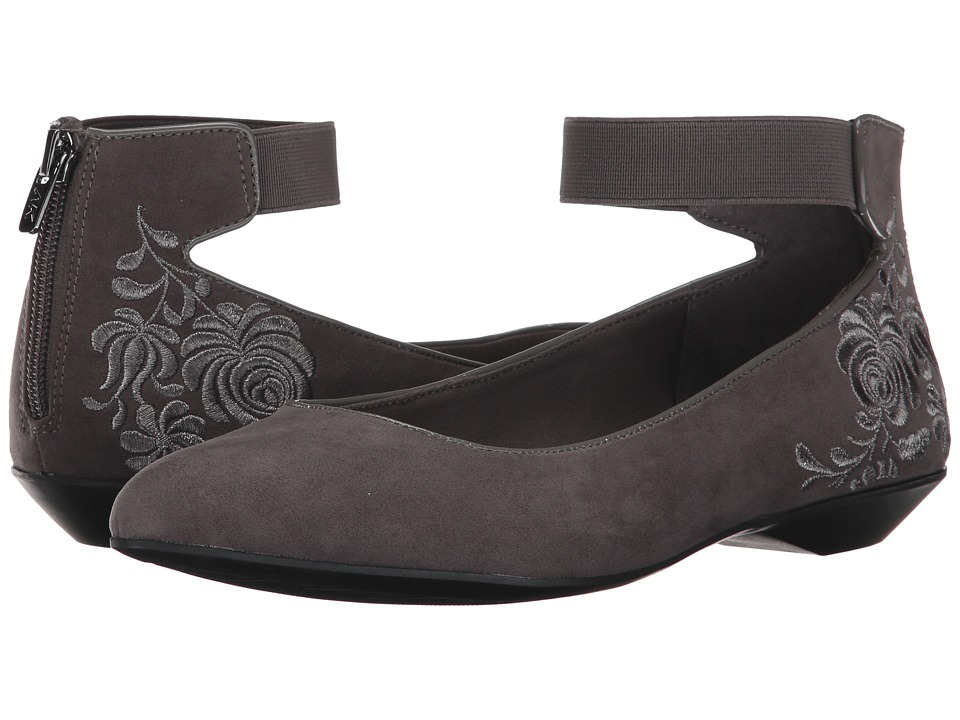 Anne Klein - Otherwaye (Dark Grey Multi Fabric) Womens Shoes