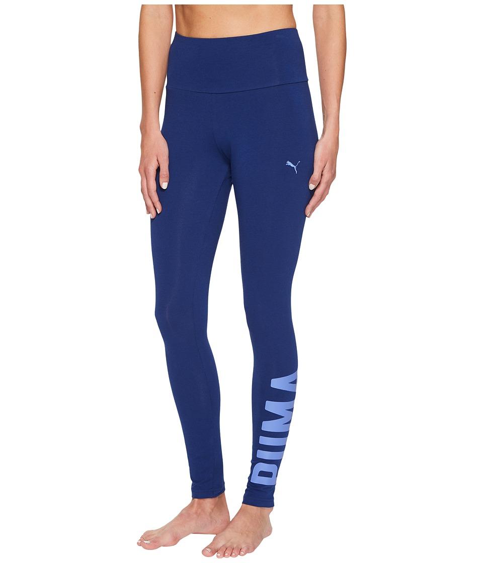 PUMA Athletic Leggings (Blue Depths 1) Women
