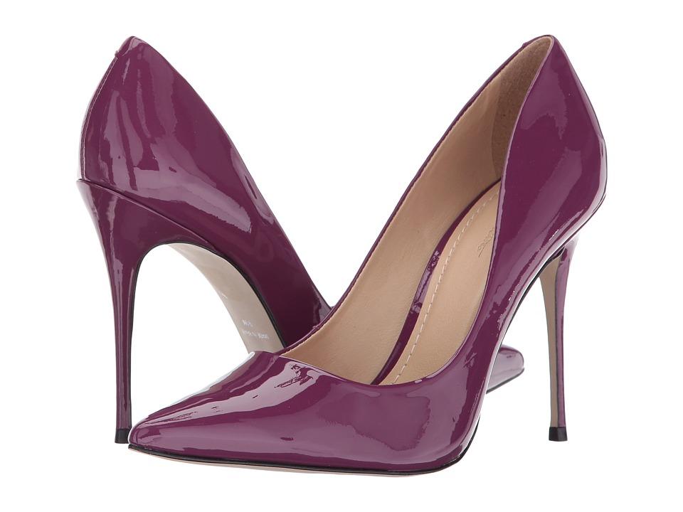 Massimo Matteo Pointy Toe Pump 17 (Violet Patent) Women