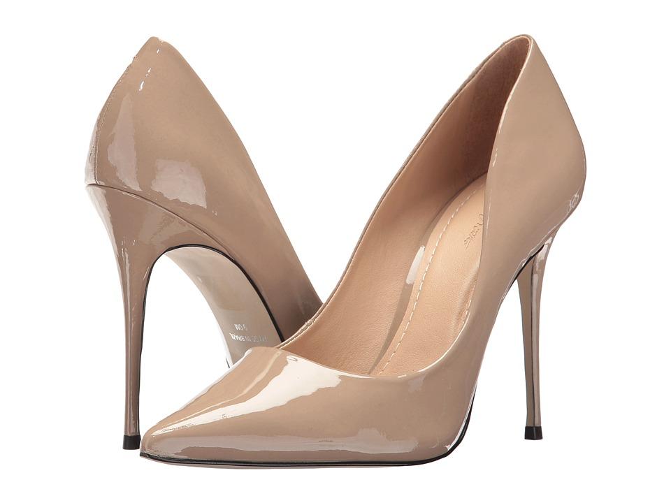 Massimo Matteo Pointy Toe Pump 17 (Tan Patent) Women