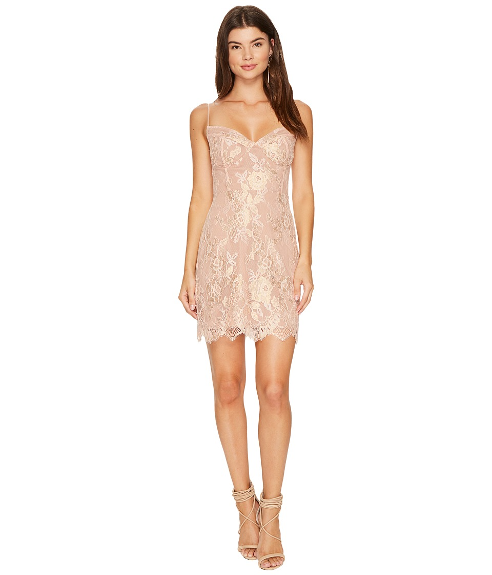 For Love and Lemons Bumble Busiter Dress (Rose Gold) Women