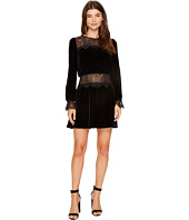 For Love and Lemons - Beatrix Velvet Lace Mini Dress