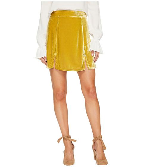 For Love and Lemons Beatrix Velvet Skirt
