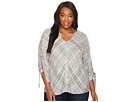 B Collection by Bobeau Curvy - Plus Size Long Sleeve Top